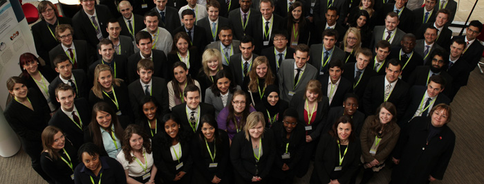 Graduates from Network Rail