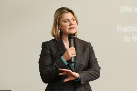 MP Justine Greening